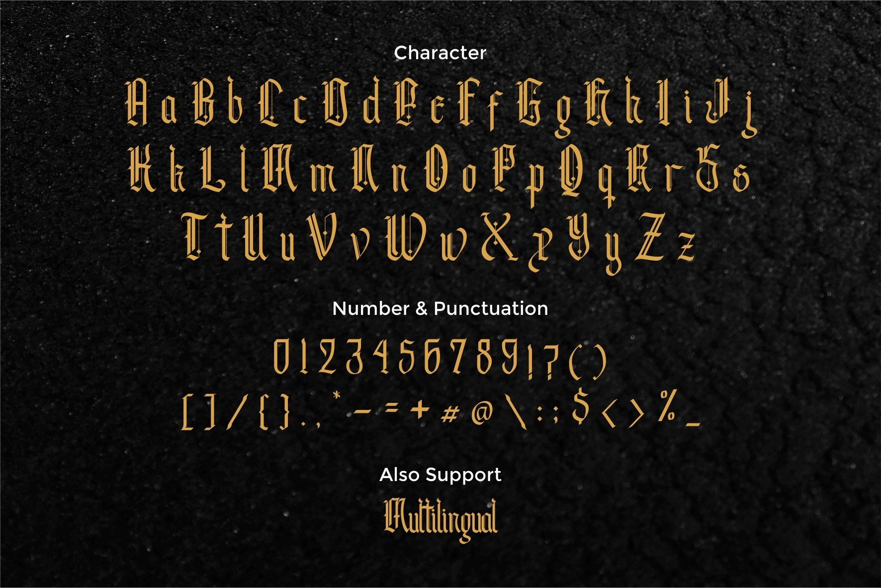 Andalusia - The Blackletter Typeface example image 7