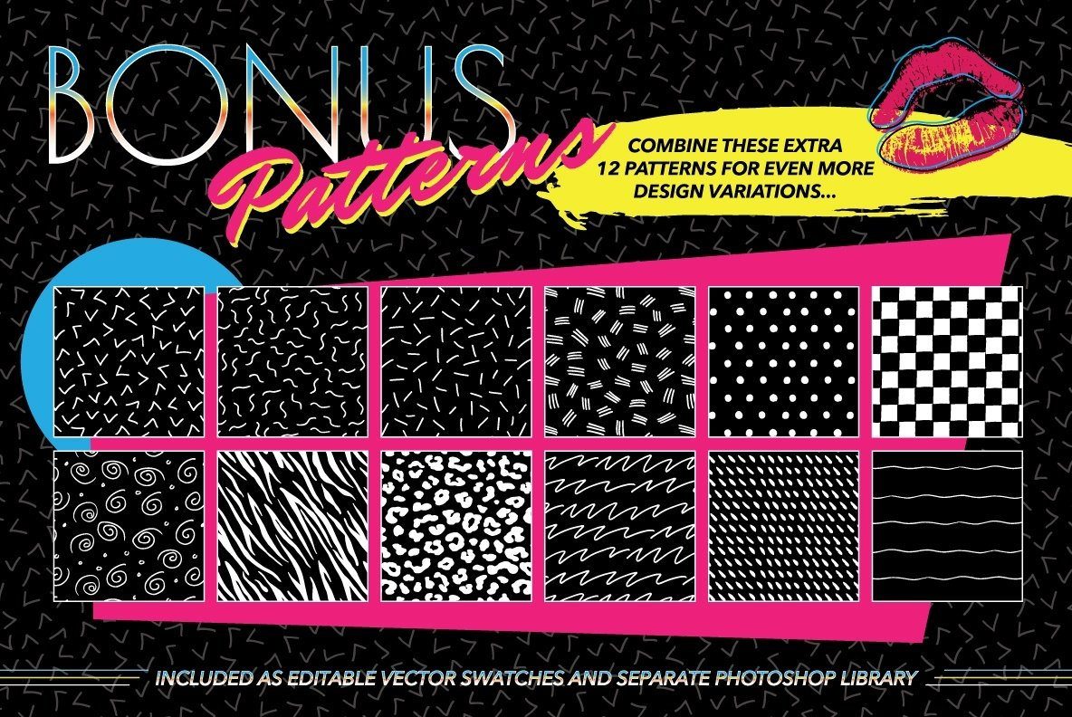 1980s Fashion Patterns Volume One example image 6