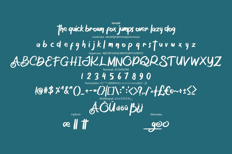The Osage   Stylish Display Font example image 6