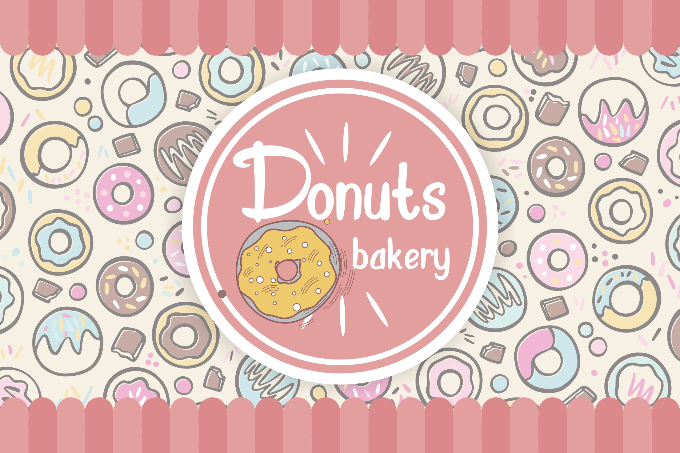 Sweet Donuts example image 3