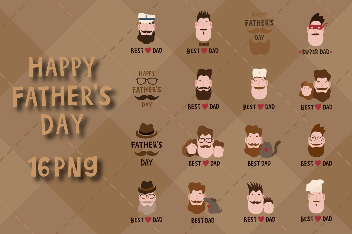 Fathers day greeting card example image 5