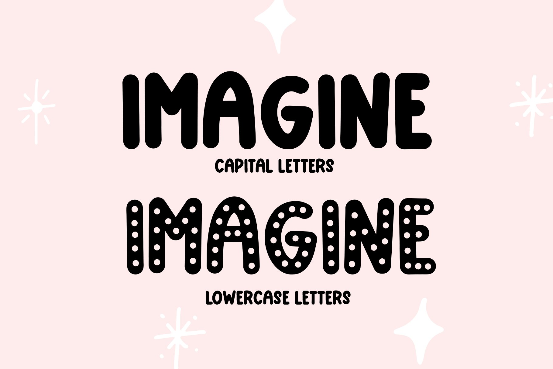 Too Cute- Fun and Chunky Handwritten Font example image 2