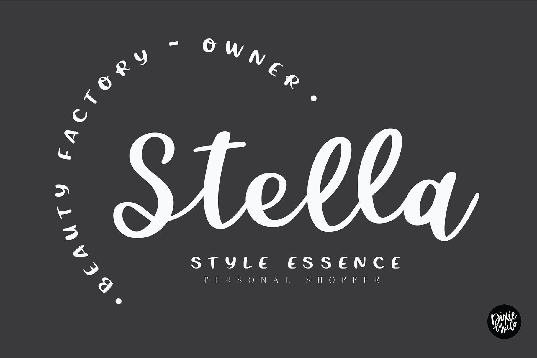 CHEERFUL DESIGNER Script Sans Hand Lettered Font Duo example image 2