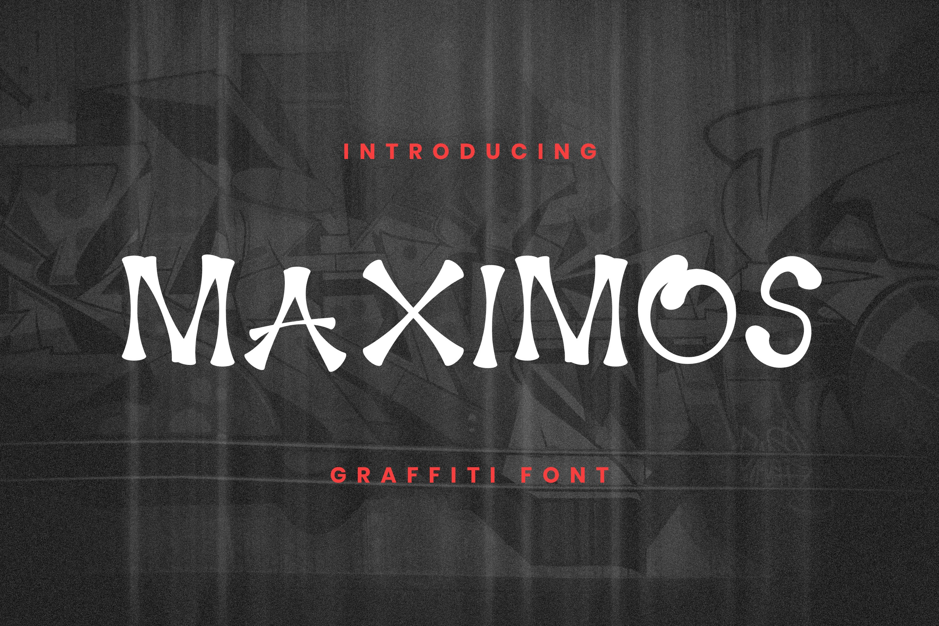 Maximos Font example image 1