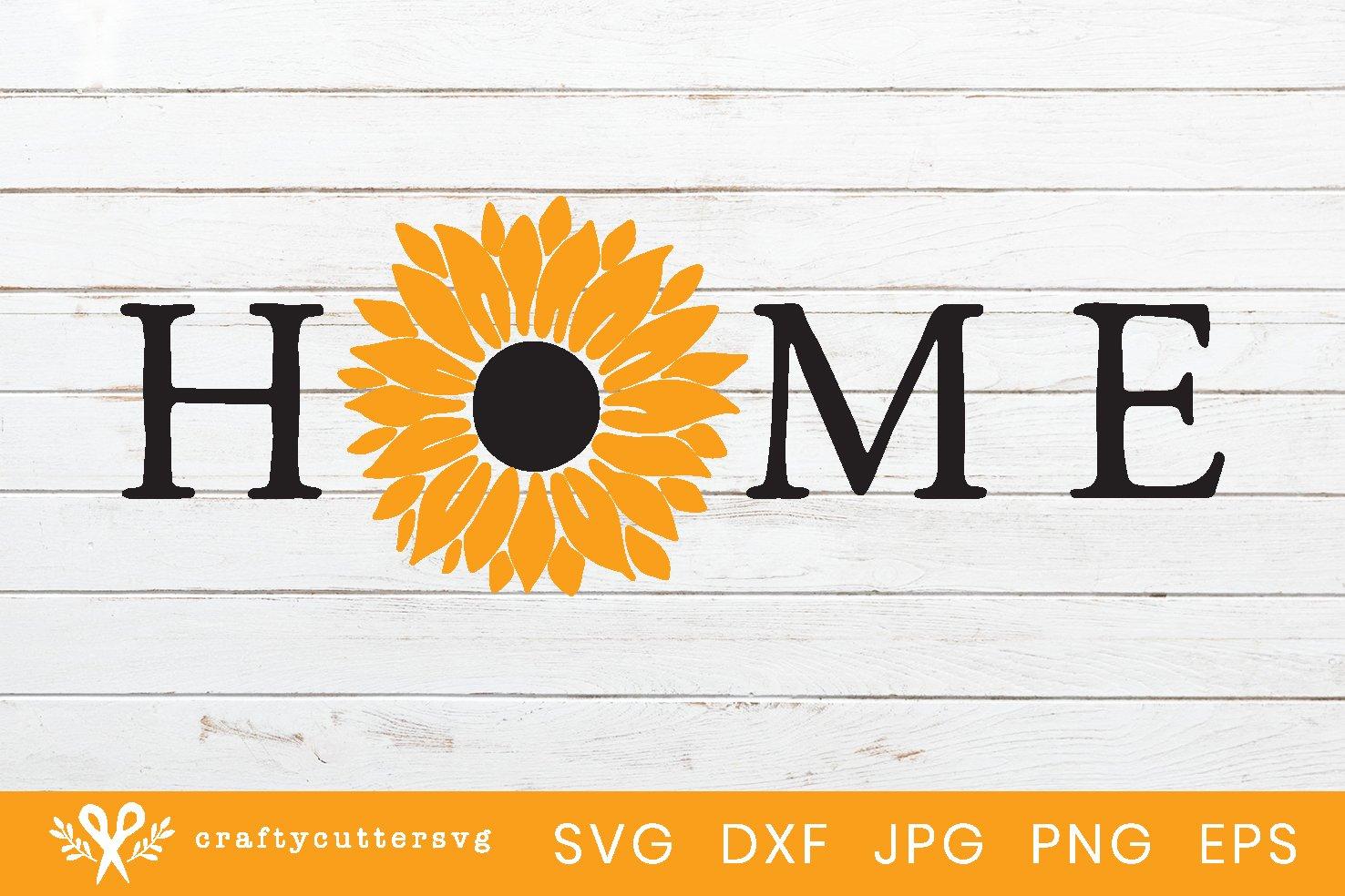 Sunflower Svg | Sunflower Farmhouse Sign Cut File example image 2