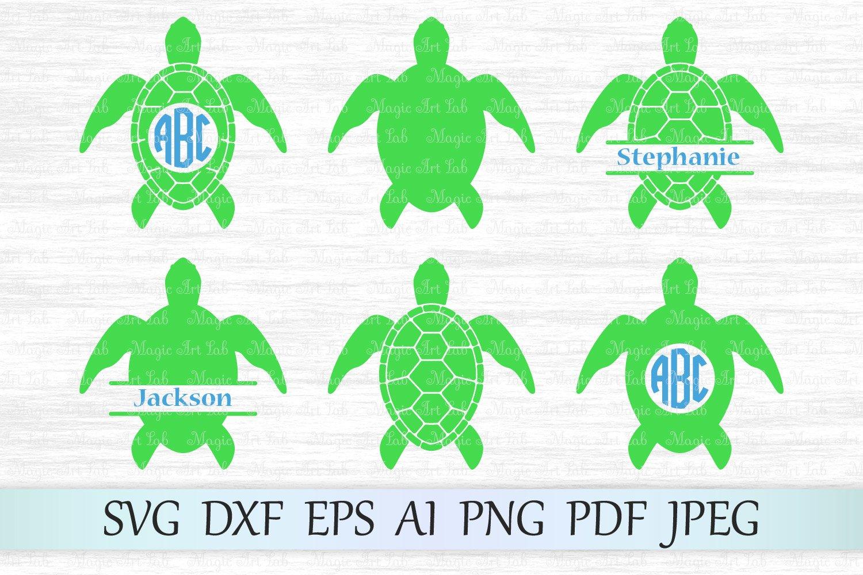 Download Sea turtle svg file, Turtle monogram svg, Turtle clipart ...