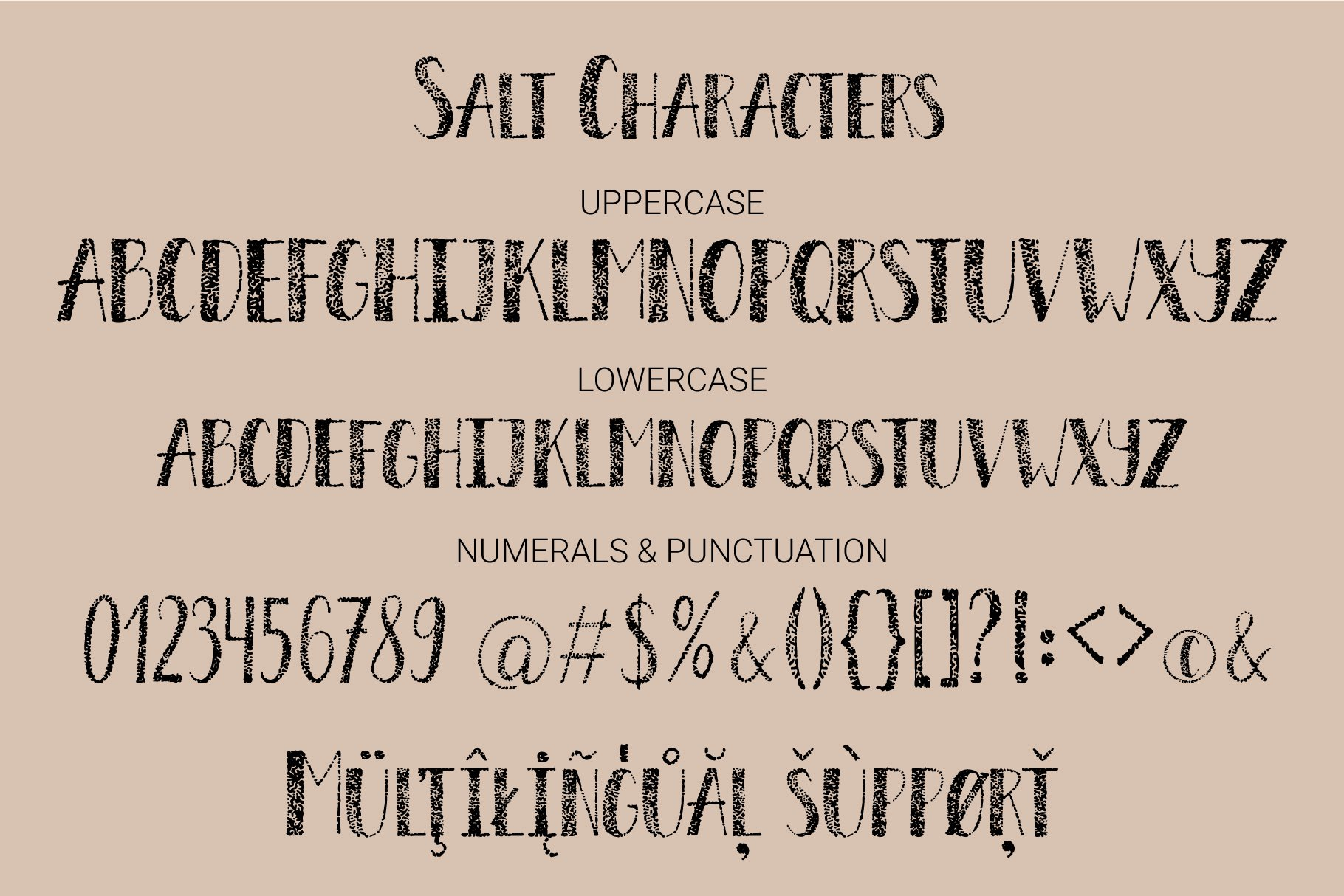 Salt & Sugar.Hand Drawn Font Duo example image 5