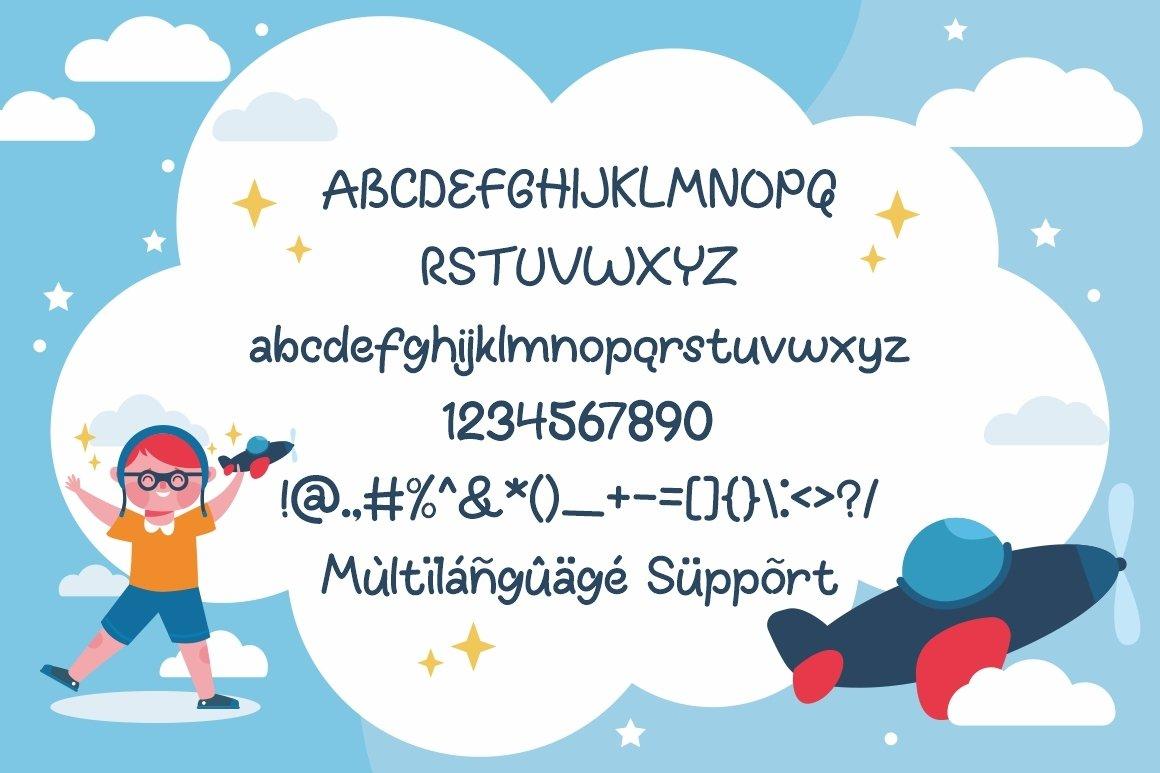 Fun Kids - Playful Font example image 7