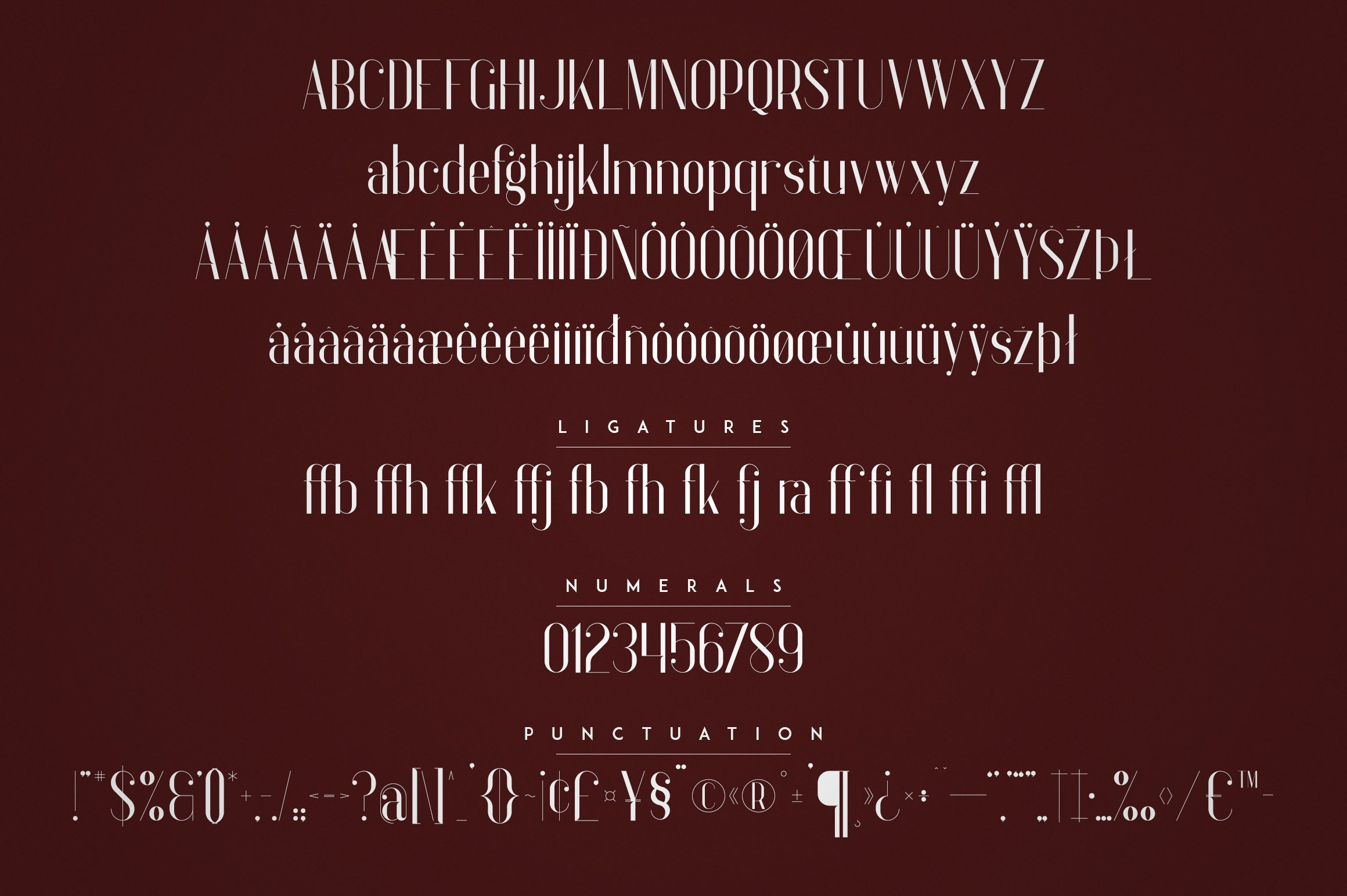 Anteric - Typeface | 3 weights example image 9