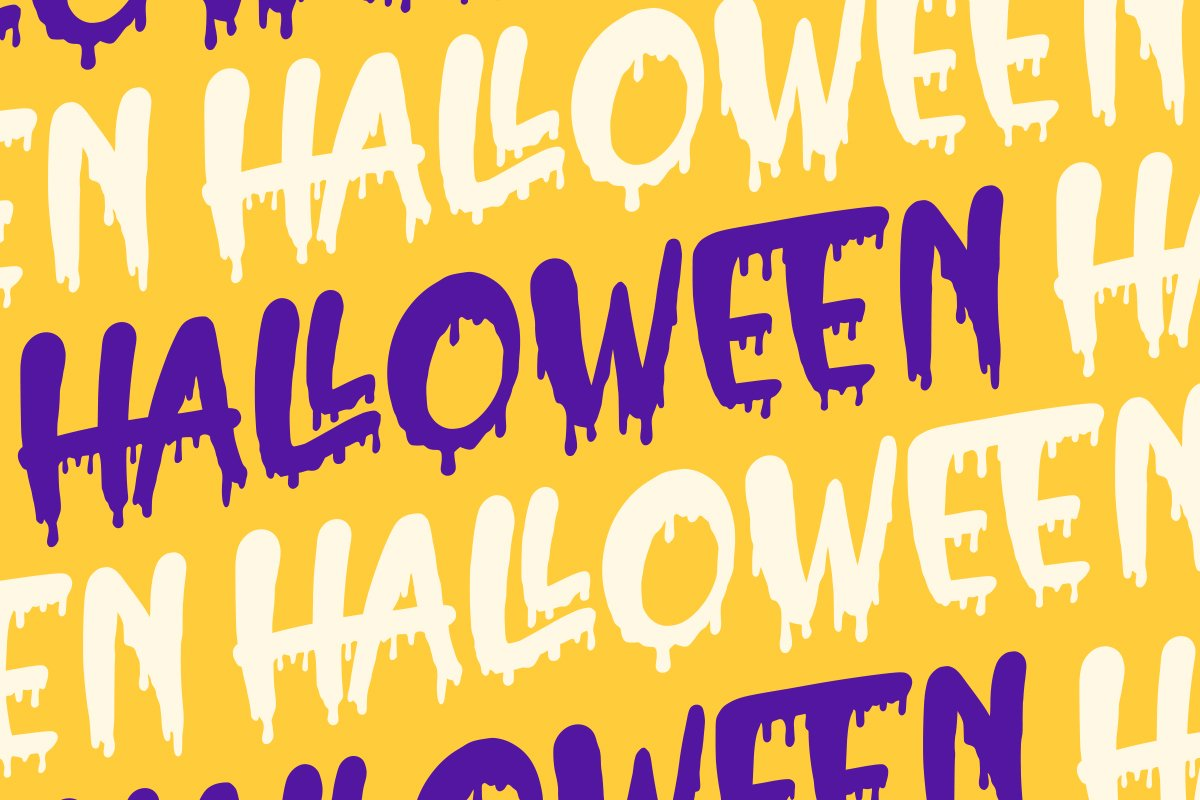 Hello Crush - Halloween Font example image 3