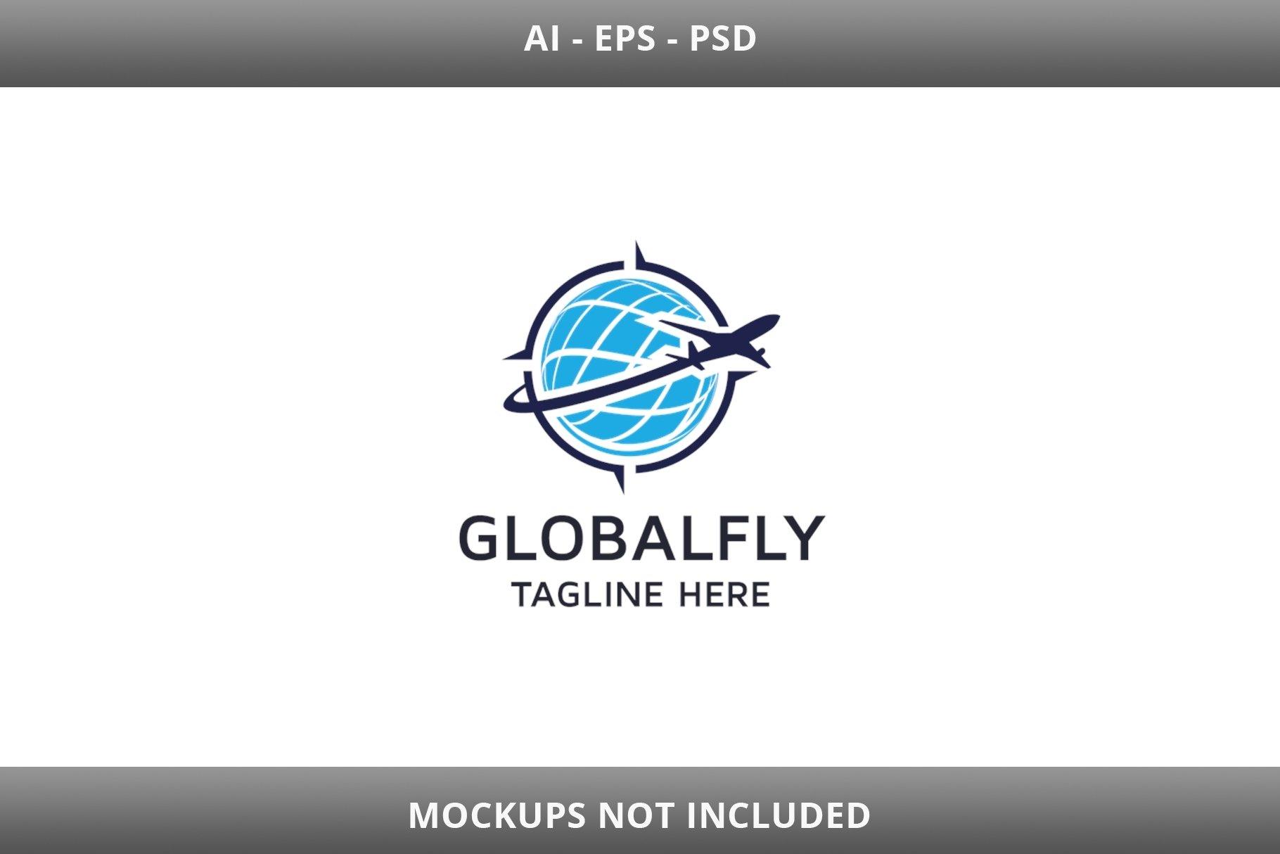 Global Fly Logo example image 2