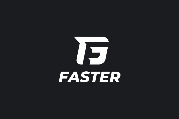 Faster - Letter F Logo example image 2