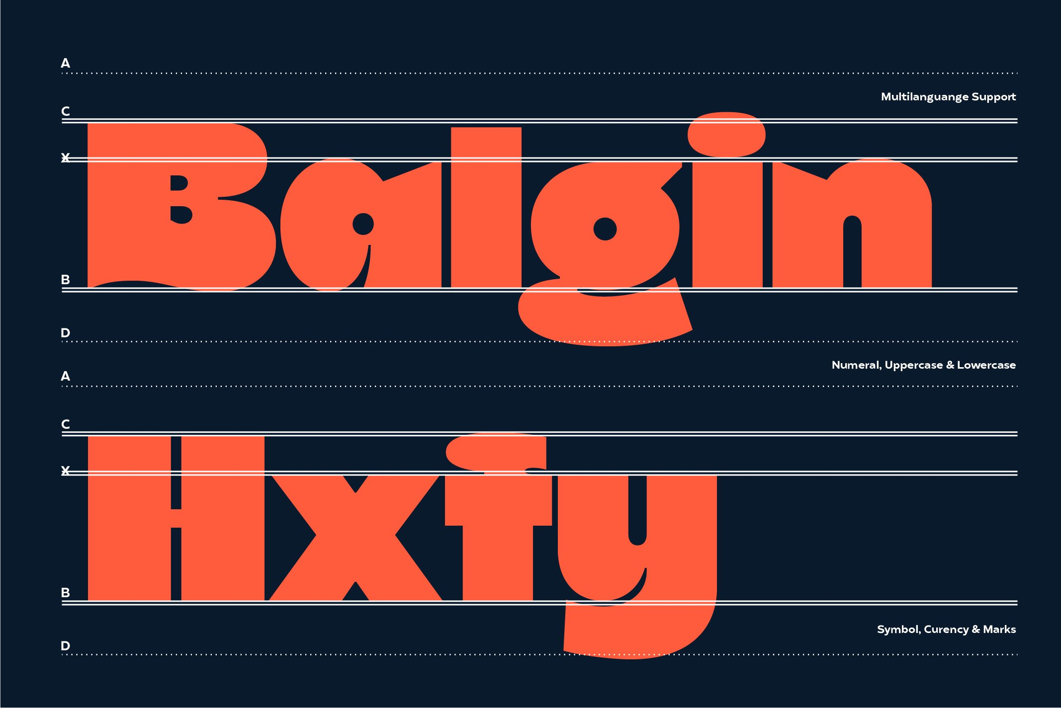 Balgin Font Family example image 5