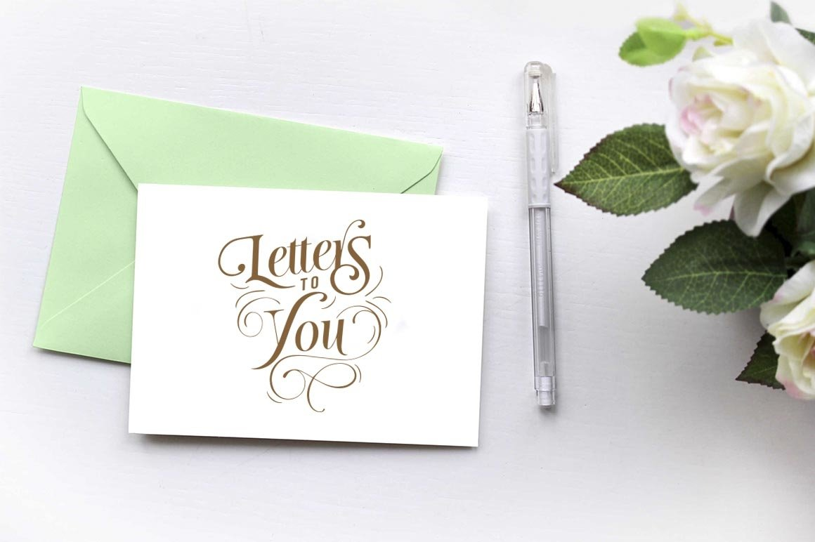 MOTHER LETTERS FONT DUO example image 2