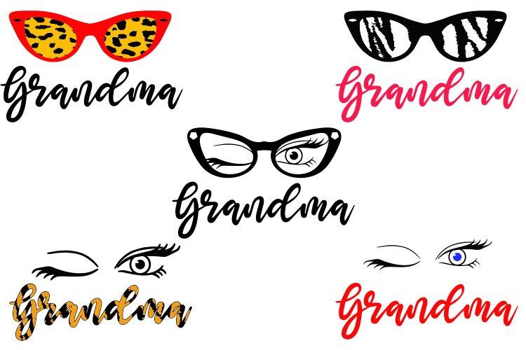 Download Grandma Svg Bundle 5 Files 1143766 Illustrations Design Bundles