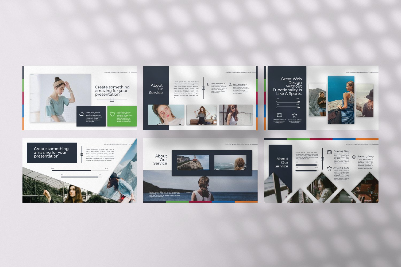 Flowerwall Business Google Slide example image 12