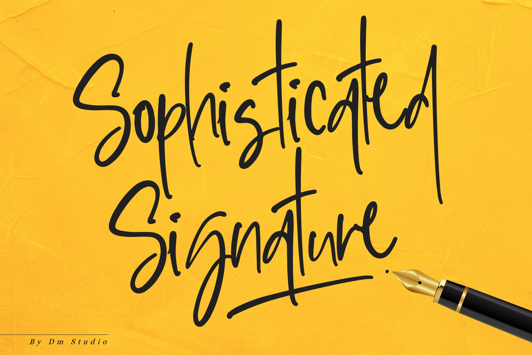 Sophisticated Signature!! example image 1