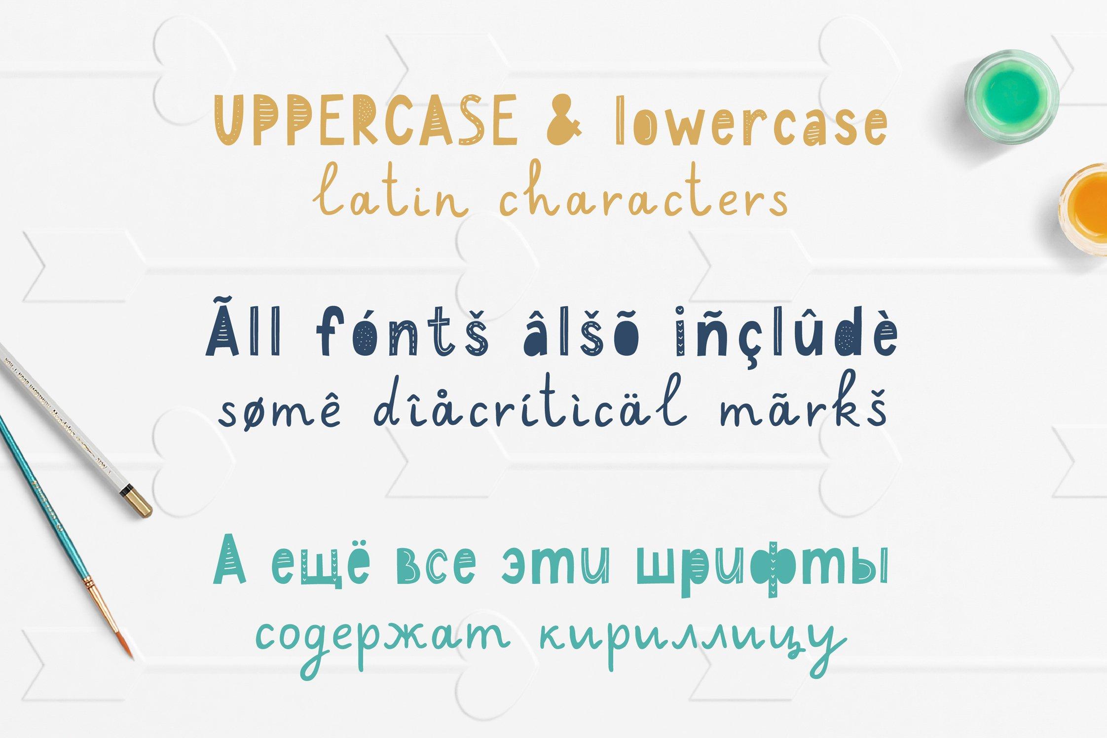 Maybug Latin & Cyrillic scandinavian fonts example image 3