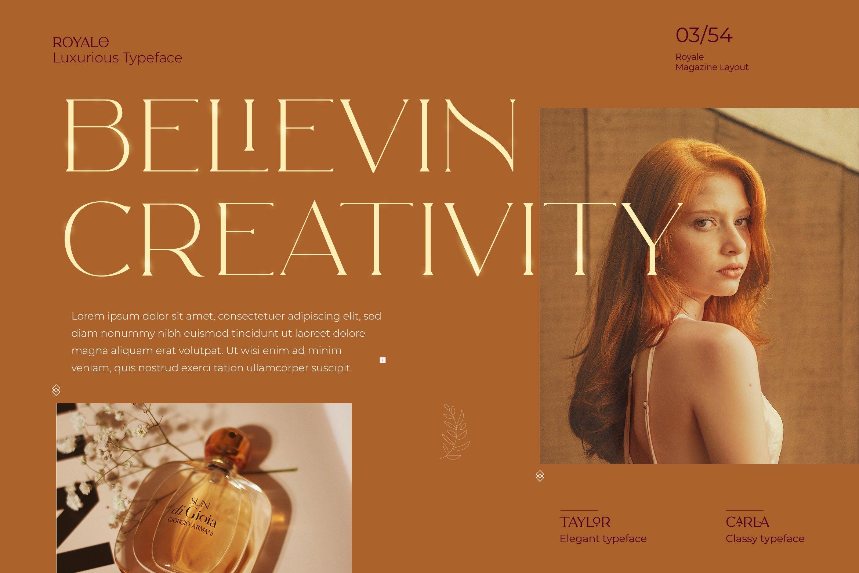 Royale Luxurious Typeface example image 19
