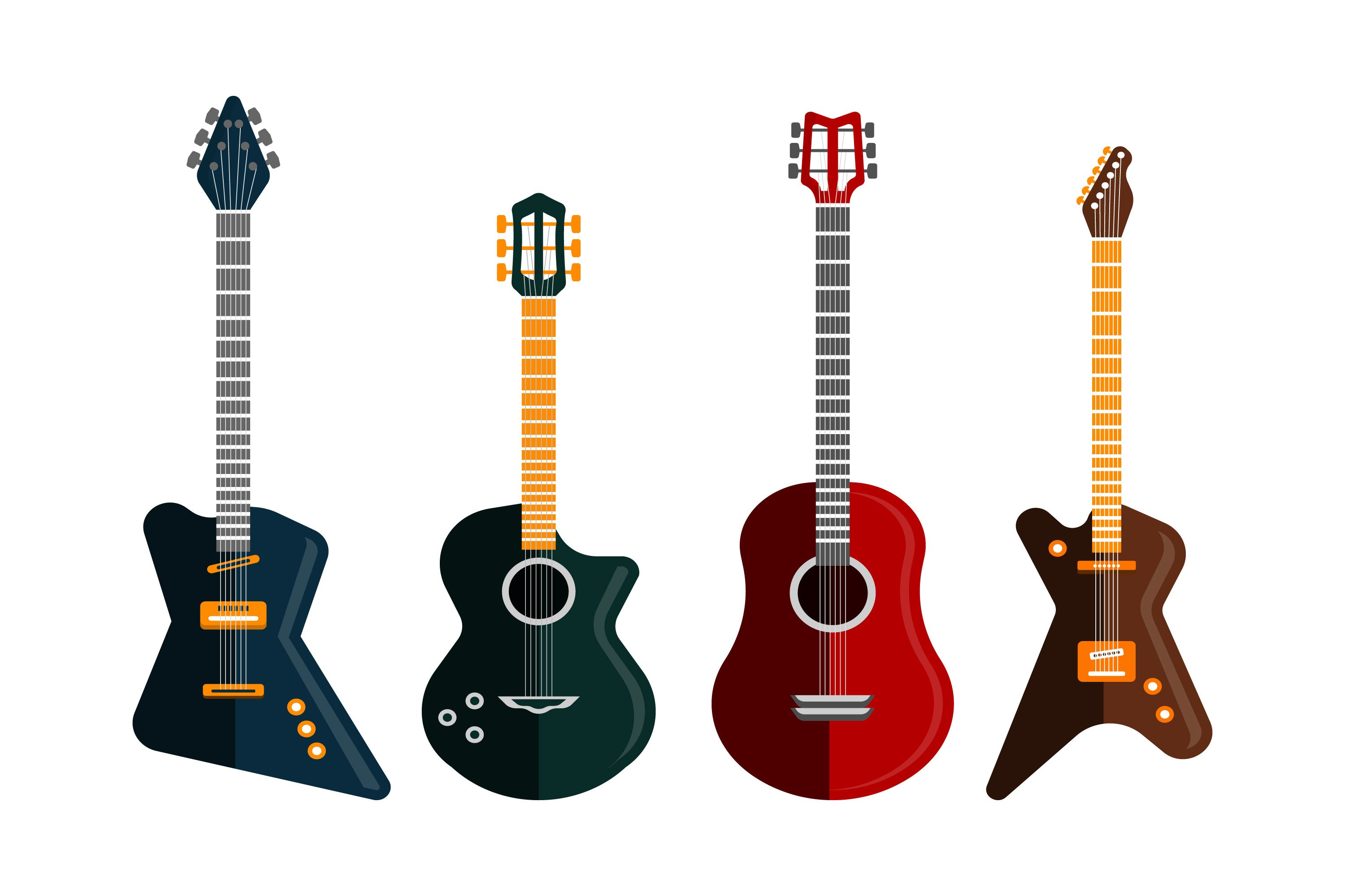 Guitar Illustrations example image 1