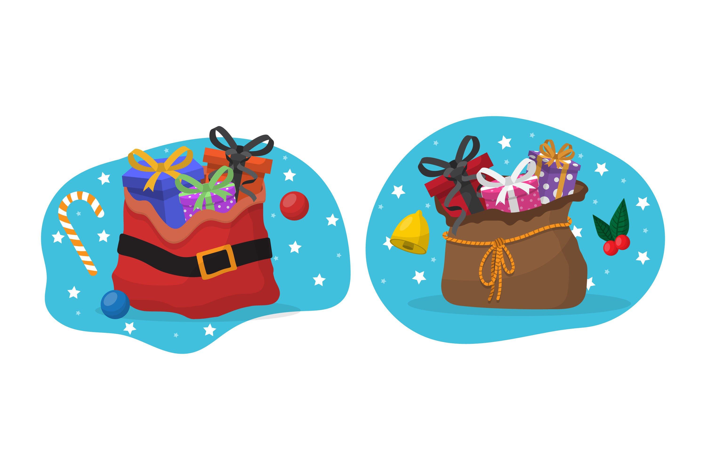 Santa Sack Illustrations example image 1