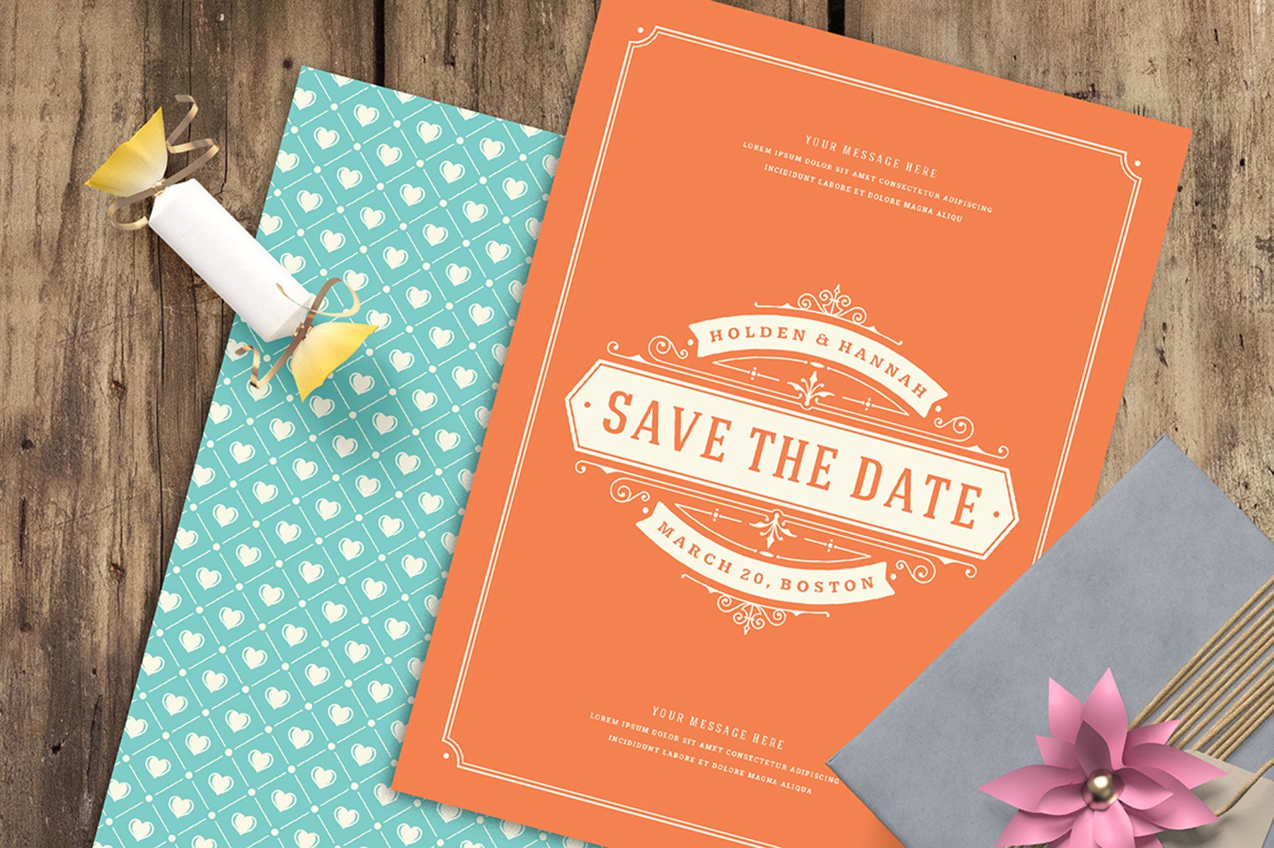 Save The Date Bundle example image 21