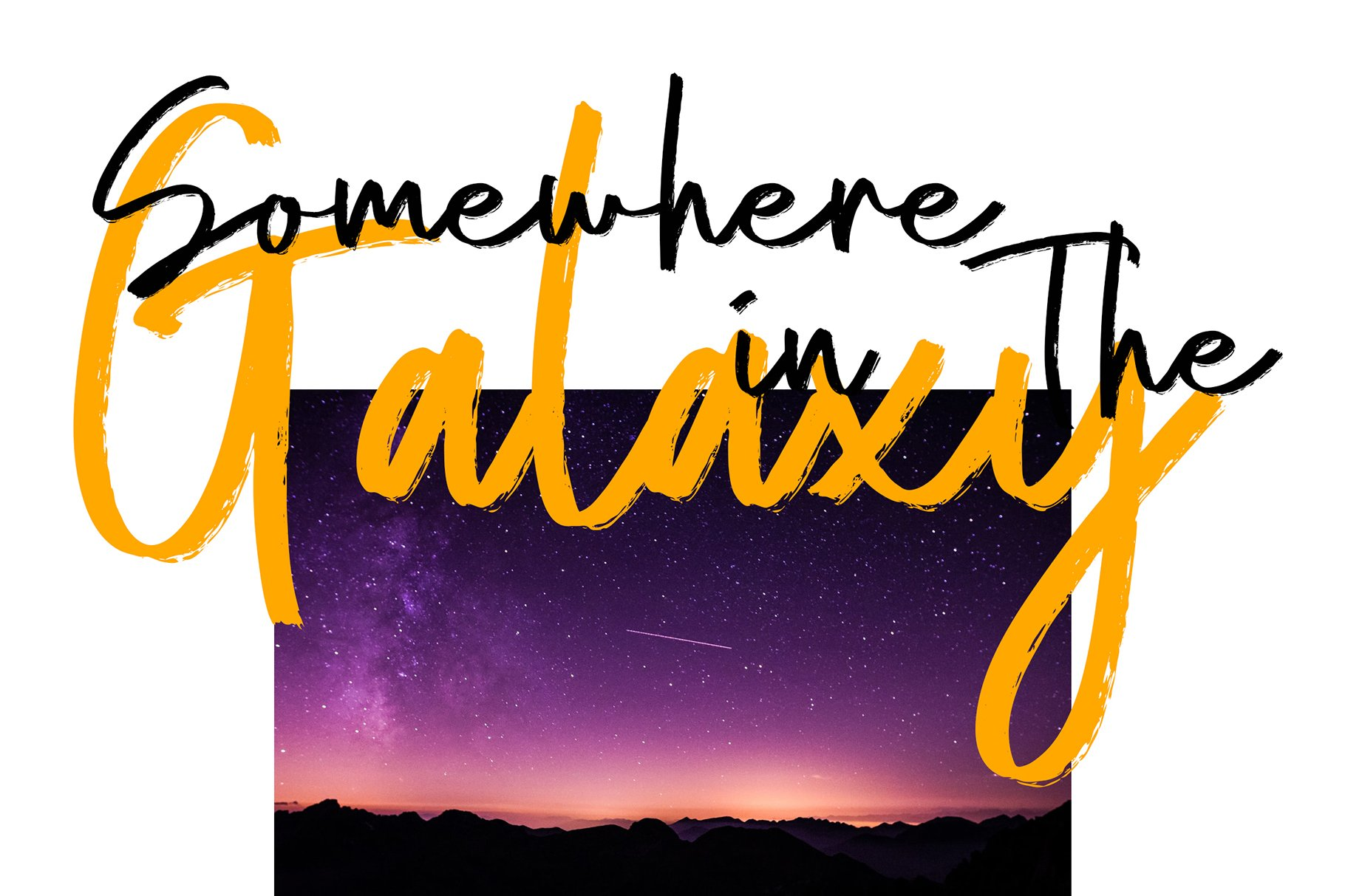 Amstrong Beautiful Brush Font example image 3