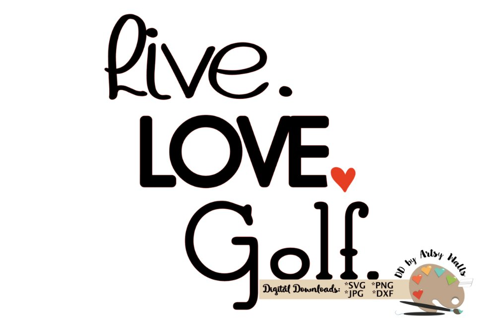 23+ Love Golf Svg for Cricut