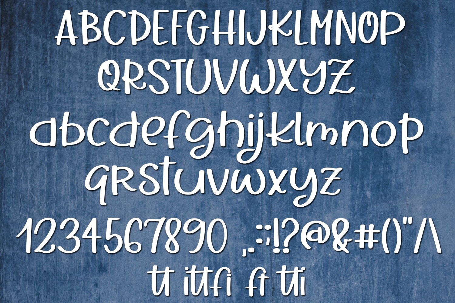 Little Furball - A Hand-Written Font example image 5