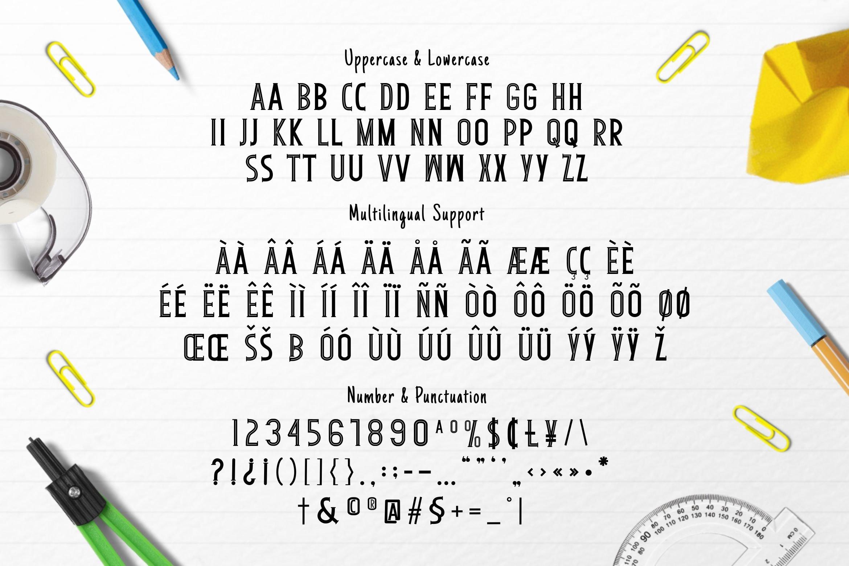 Sebelast Font example image 5