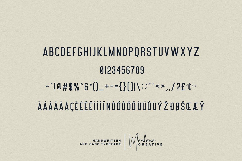 Poliesster - Font Duo Script Sans example image 10