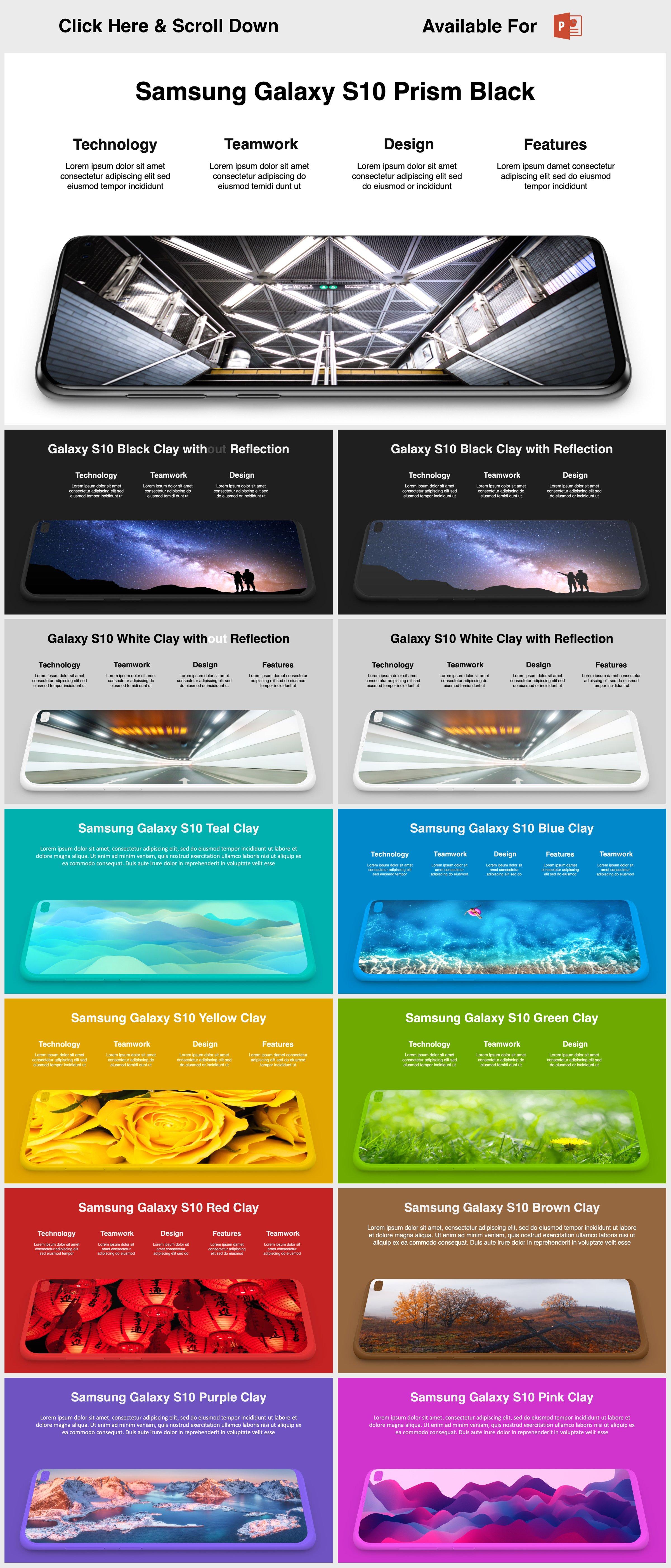 Animated Mockups Presentation Bundle. Infographic Templates. example image 20