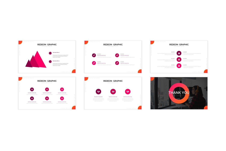 Redeon - Google Slide Template example image 2