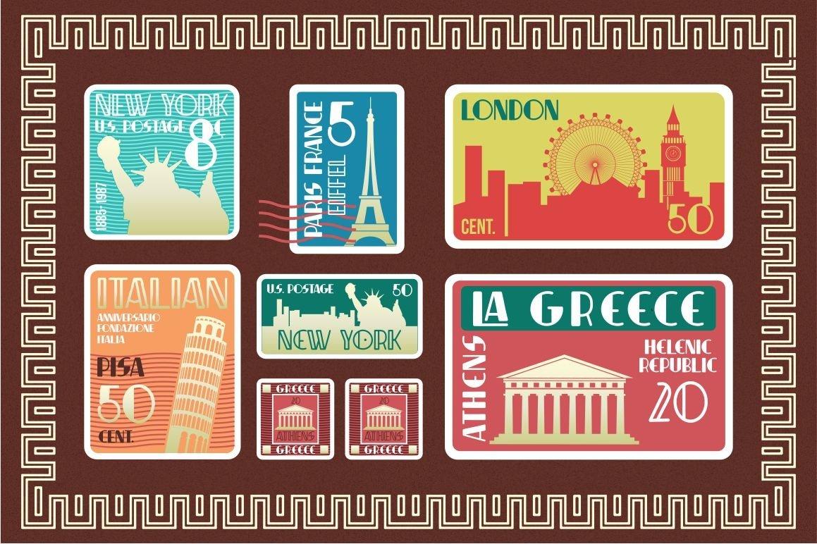Indentia - Art Deco Typeface example image 11
