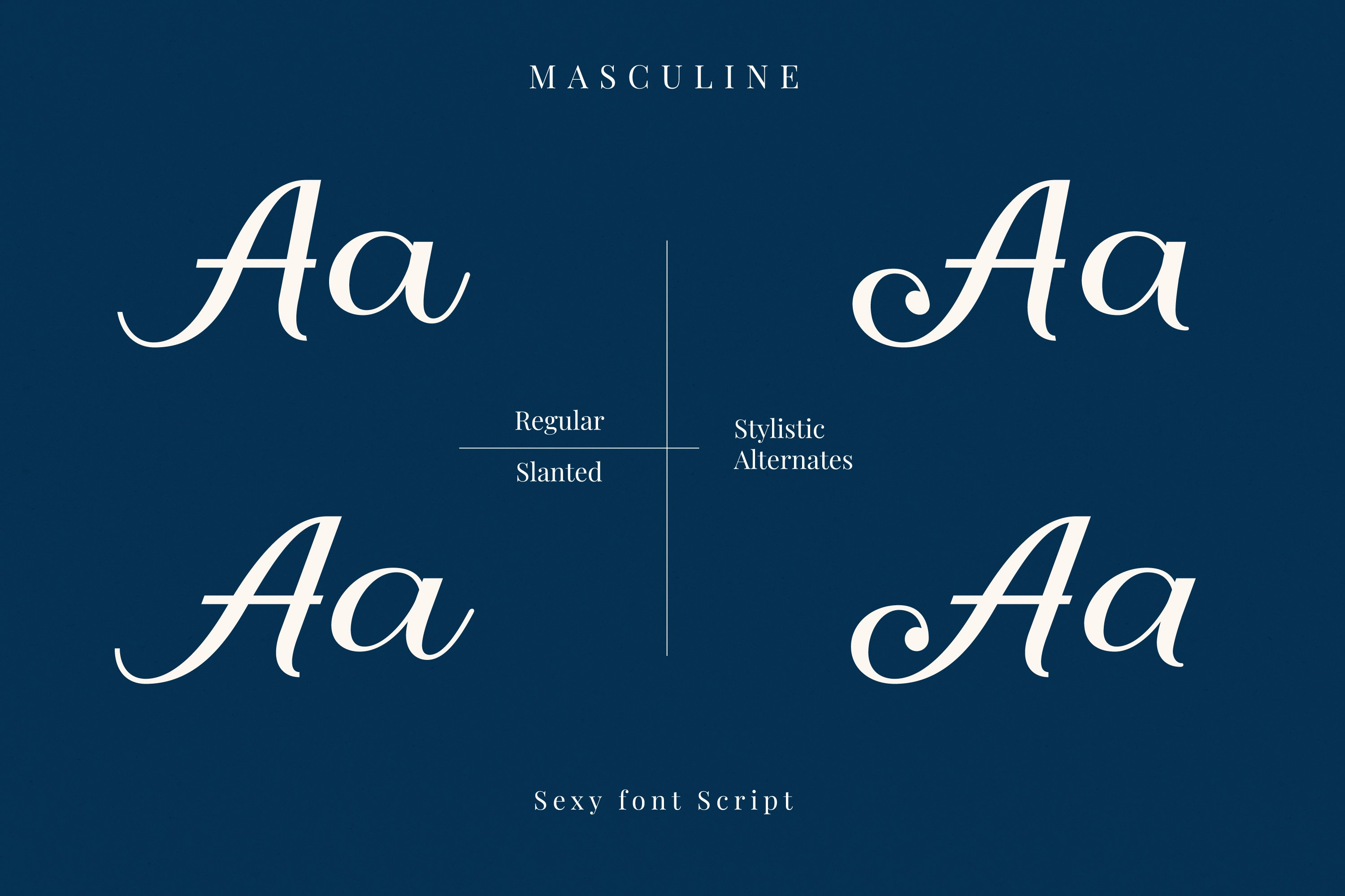 Masculine - Two Style example image 2