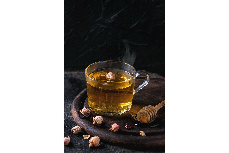 Herbal tea with honey example image 1