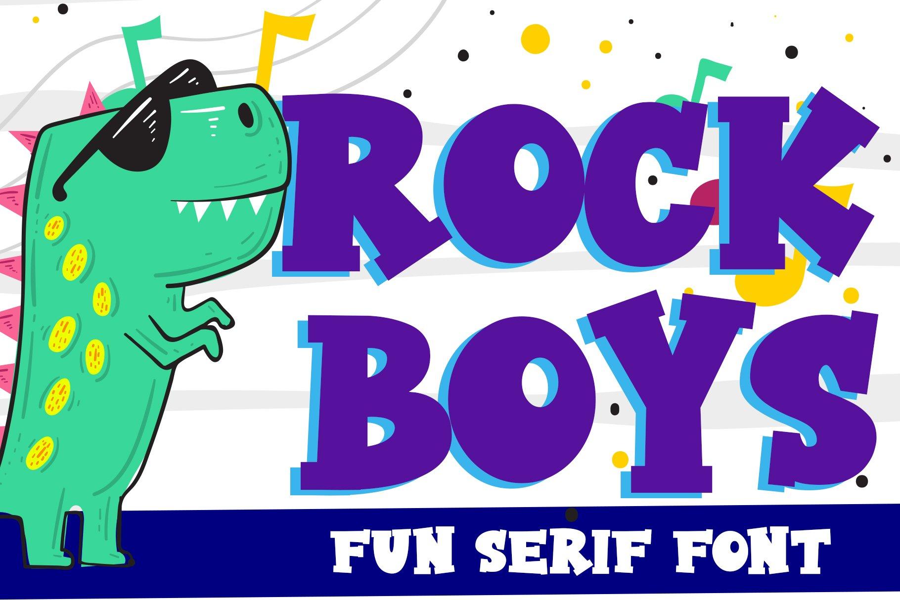 Rock Boys example image 1