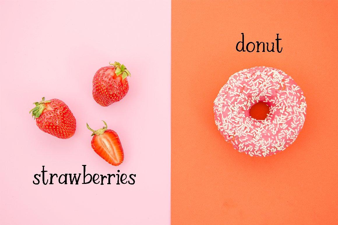 Strawberry Farm | A Serif Font example image 5
