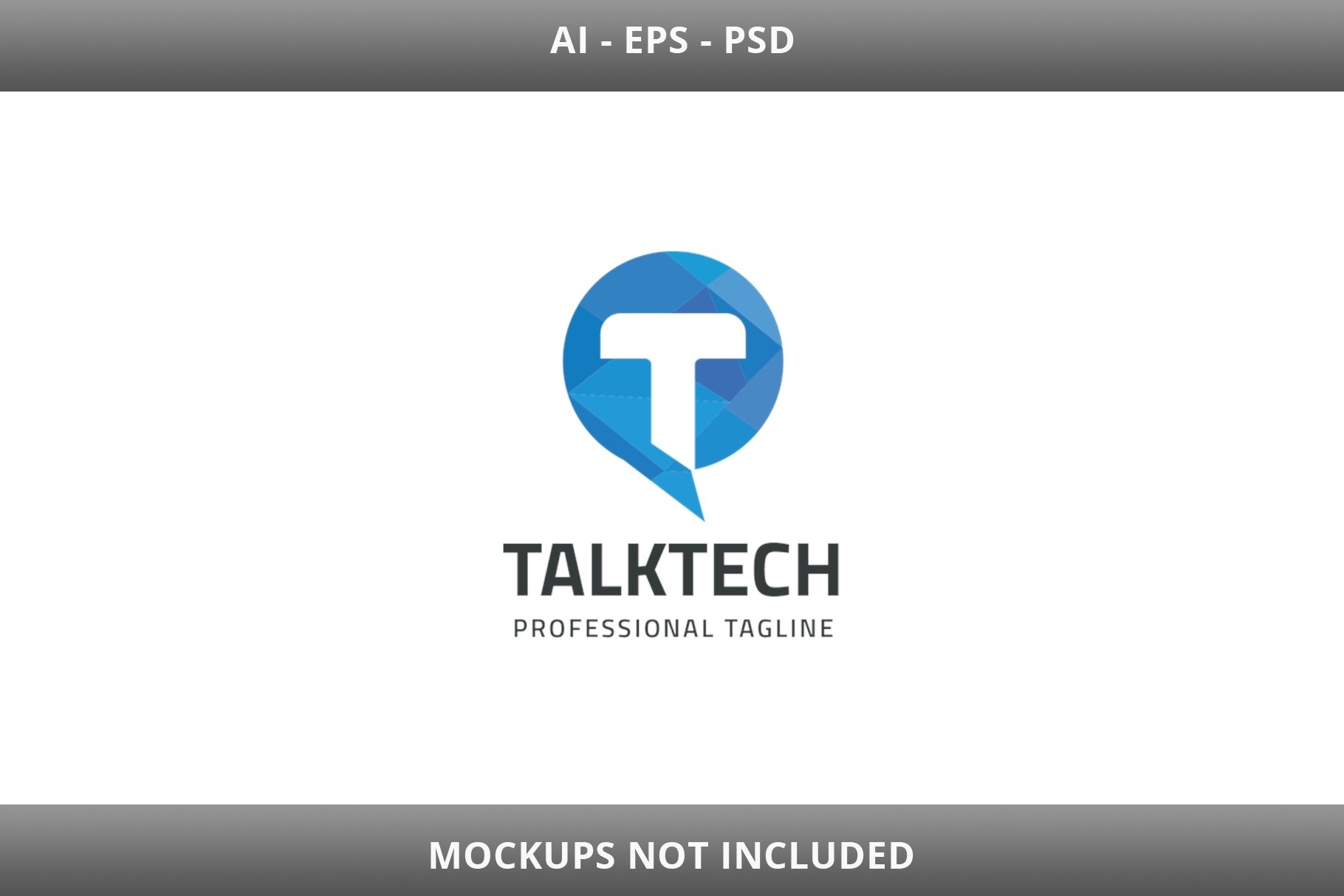 Talk Tech Letter T Logo example image 2