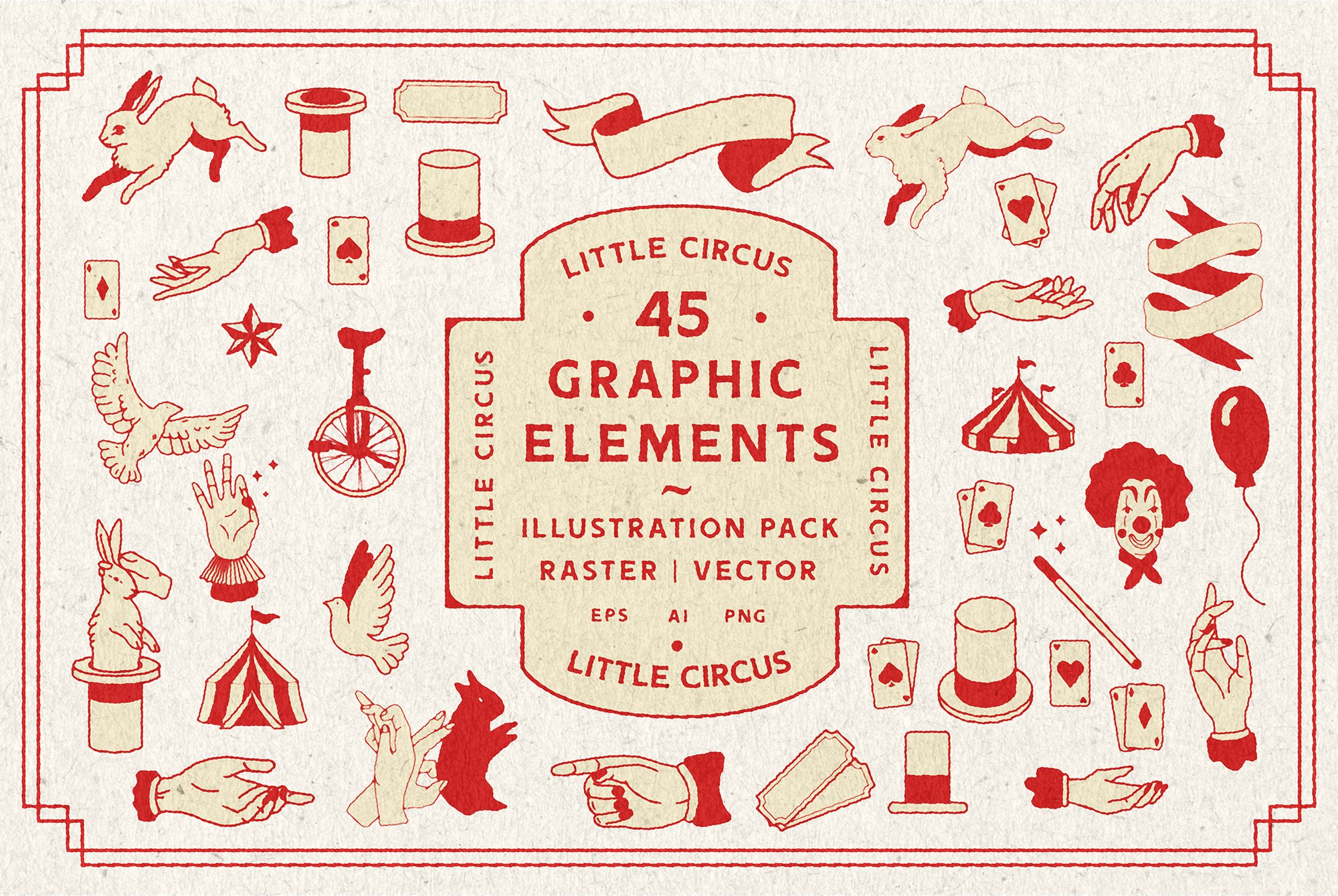 Little Circus | Graphic Elements example image 1