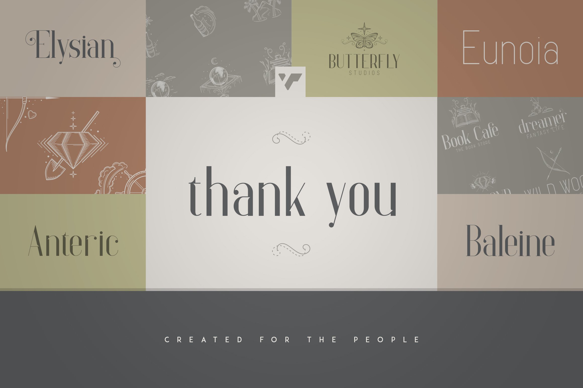Fantastic Collection - Fonts, Logos example image 8