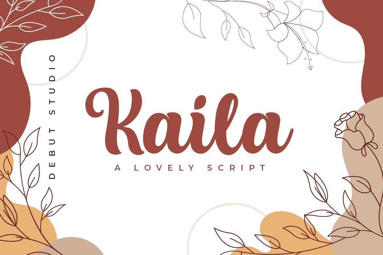 Kaila Script example image 2