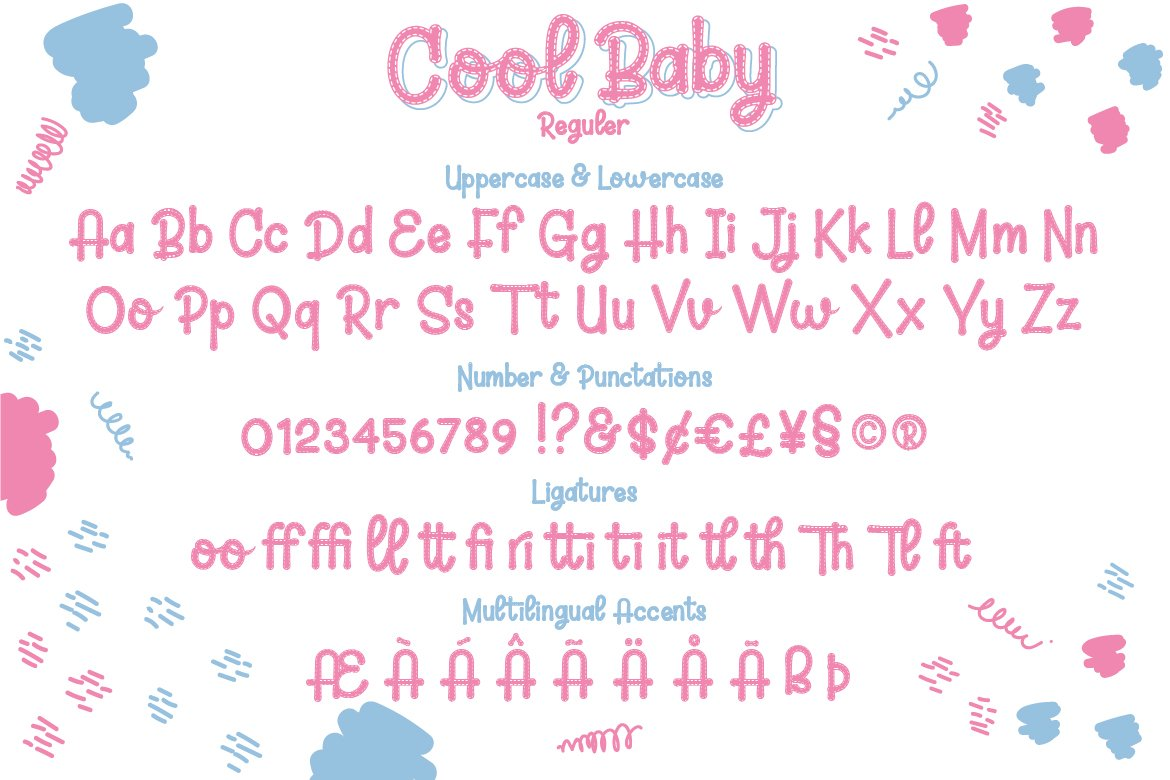 Cool Baby - A Fun Family Font example image 6