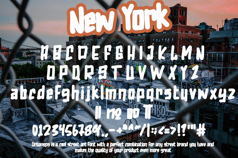 Urbanops - Urban Graffity Fonts example image 7