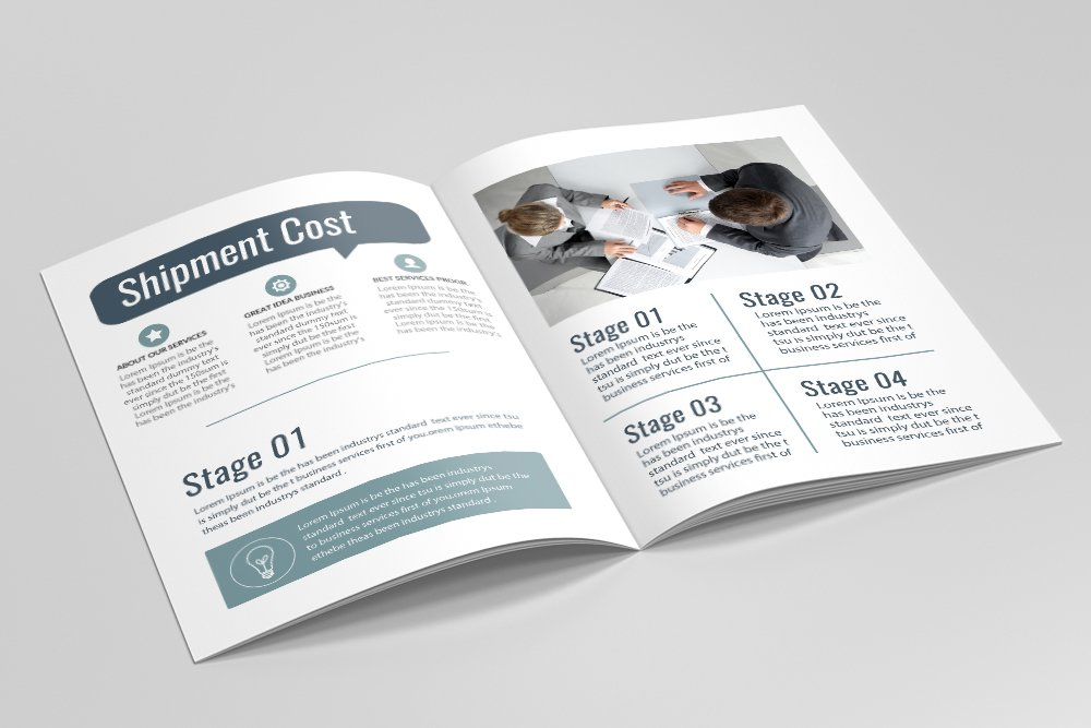 Business Bifold Brochure 16 Pages example image 7