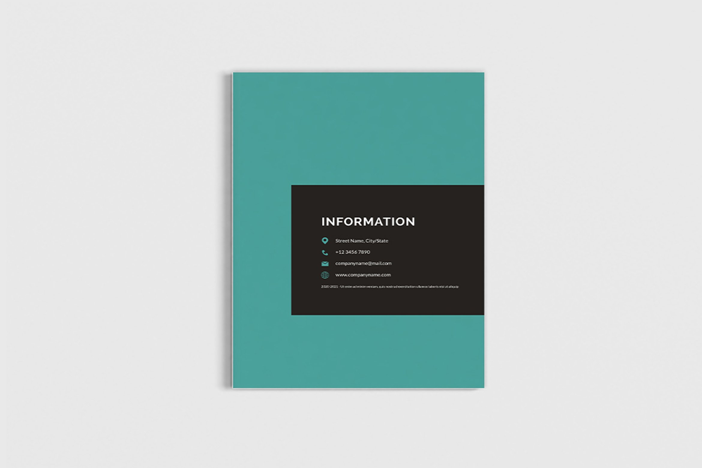 Mager - A4 Management Brochure Template example image 3