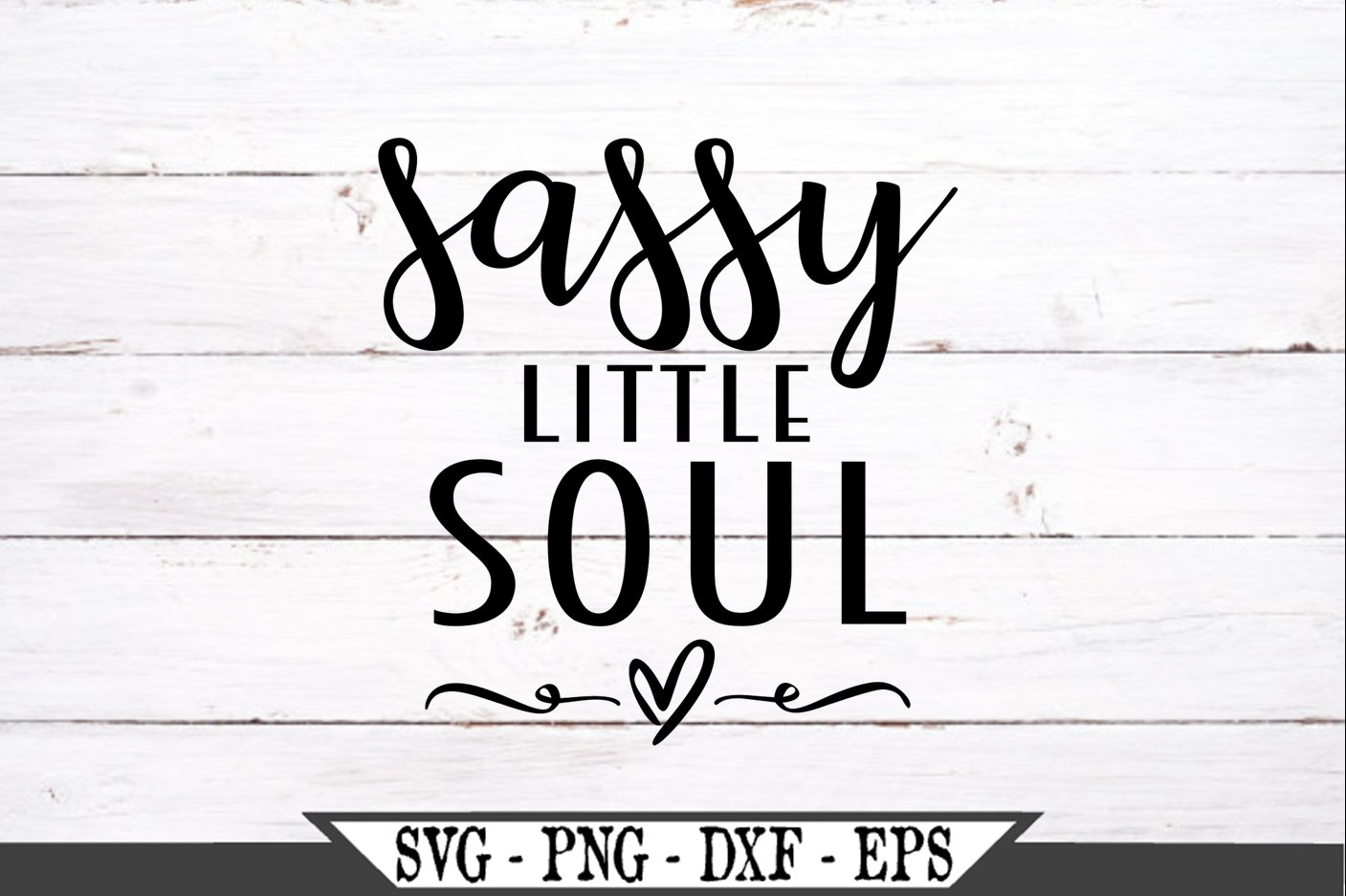 Sassy Little Soul SVG example image 2