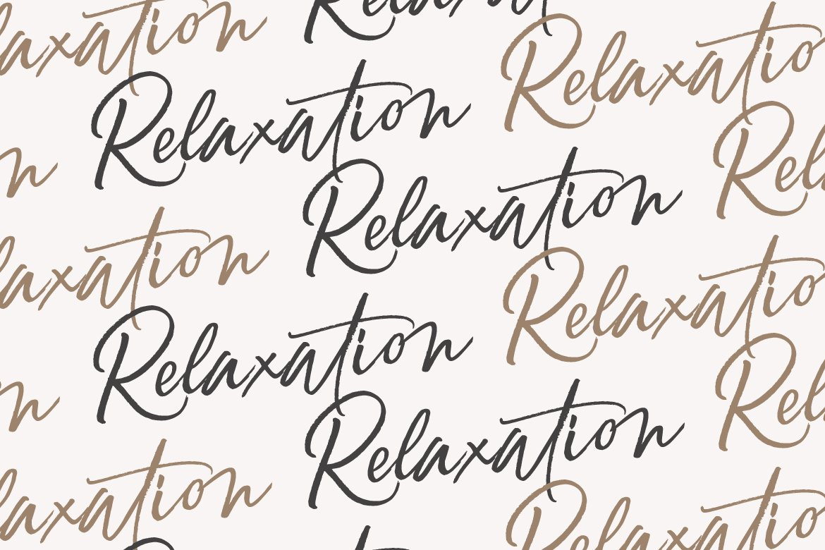 Relaxation // An Elegant Brush example image 3