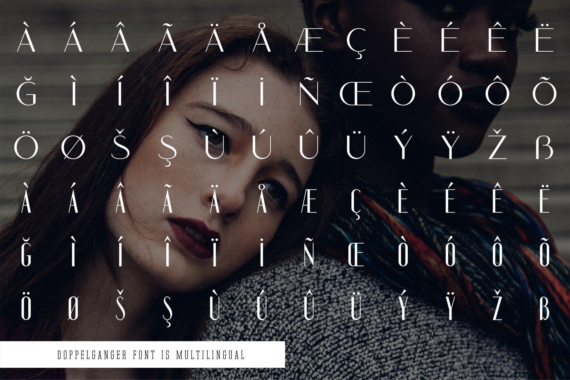 Doppelganger - Modern Sans Serif example image 8