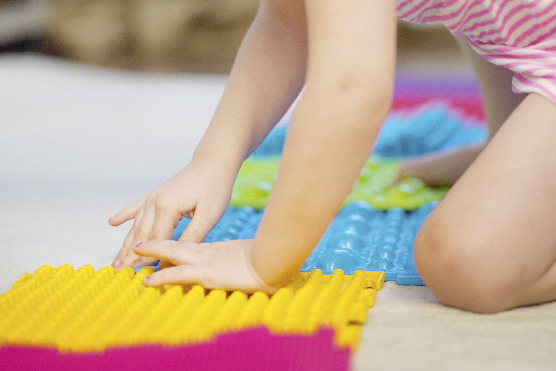 Exercises for legs orthopedic massage carpet example image 1